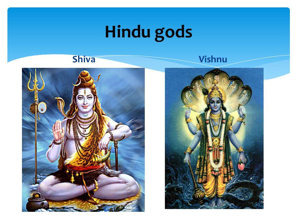 Hindu gods ShivaVishnu