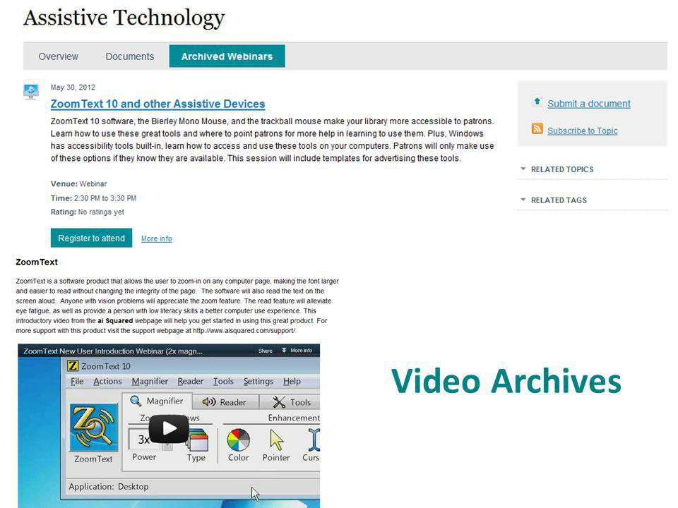 Video Archives