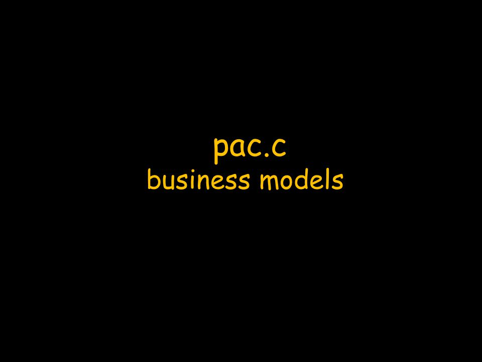 pac.c business models