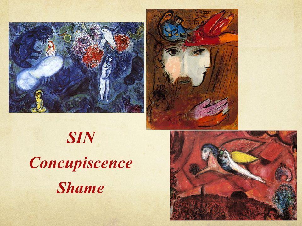 SIN Concupiscence Shame