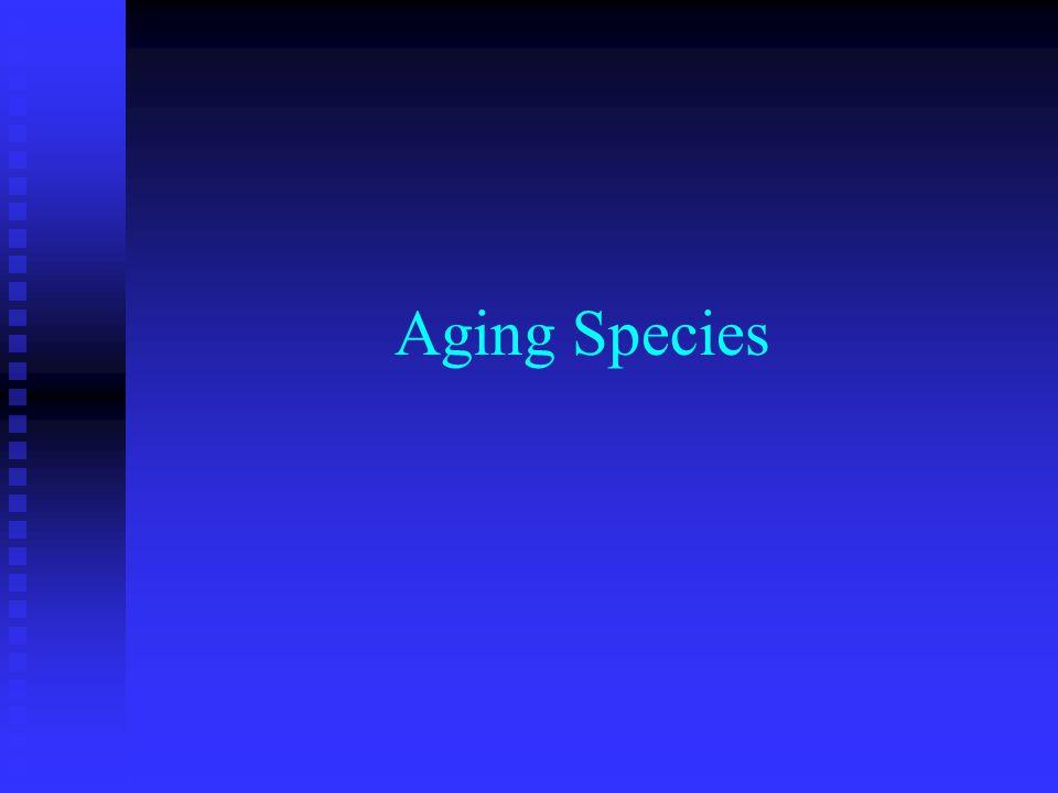 Aging Species