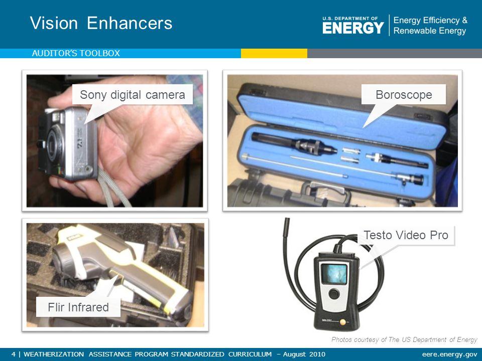 35   WEATHERIZATION ASSISTANCE PROGRAM STANDARDIZED CURRICULUM – August 2010eere.energy.gov Maintain equipment.