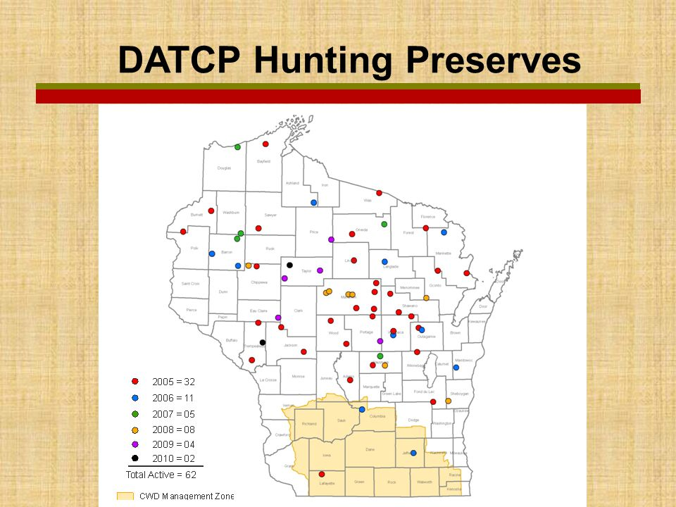 DATCP Hunting Preserves