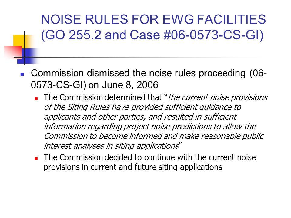 ONGOING PROCEEDINGS Beech Ridge Energy, LLC Case No.