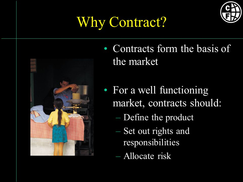 Why Contract.