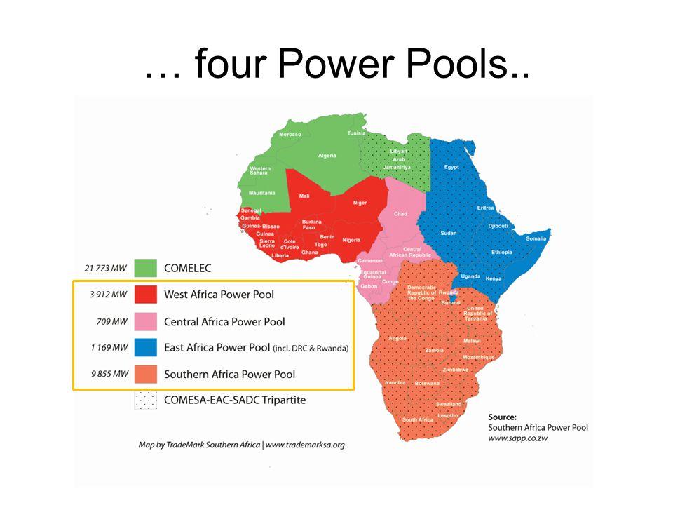 … four Power Pools..