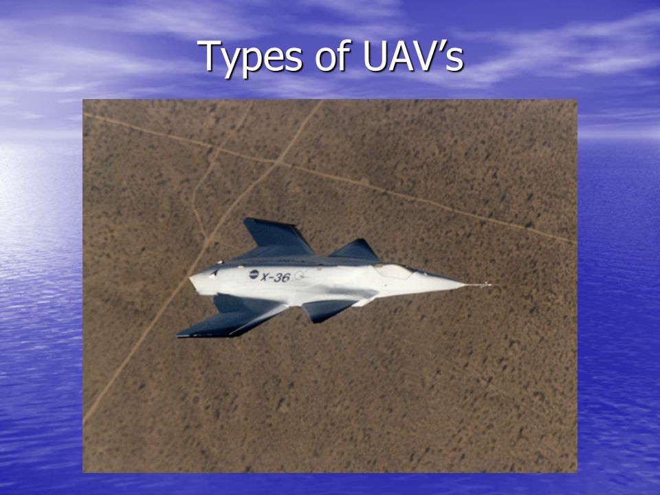 Types of UAV's