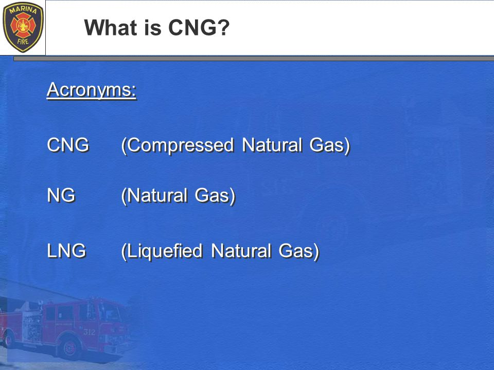 What is CNG.
