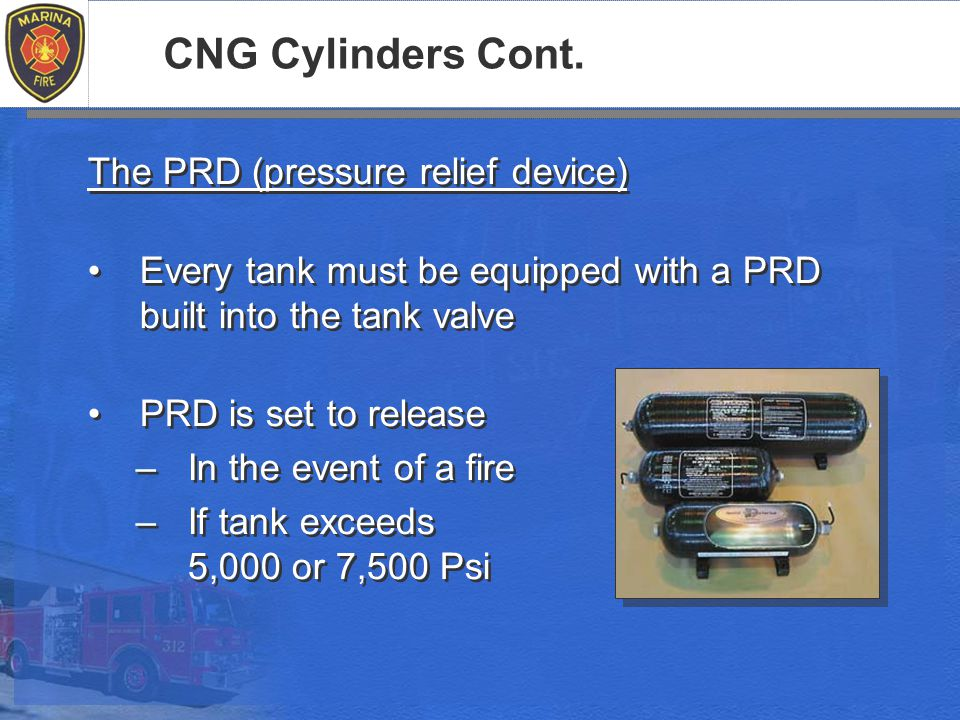 CNG Cylinders Cont.