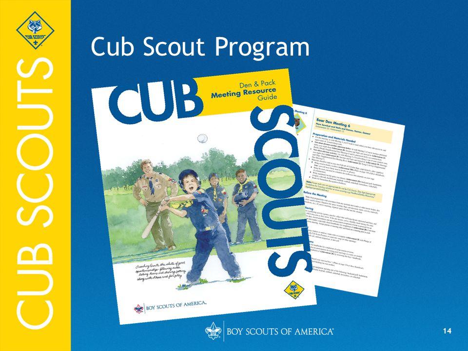 14 Cub Scout Program FPO