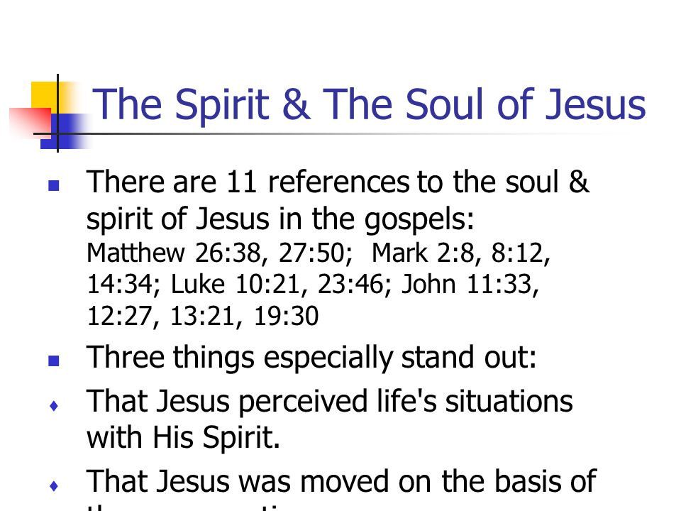 Jesus Body & Your Body The Holy Spirit created the body of Jesus to perfectly express the will of God and be free from the tendency to sin. God can do