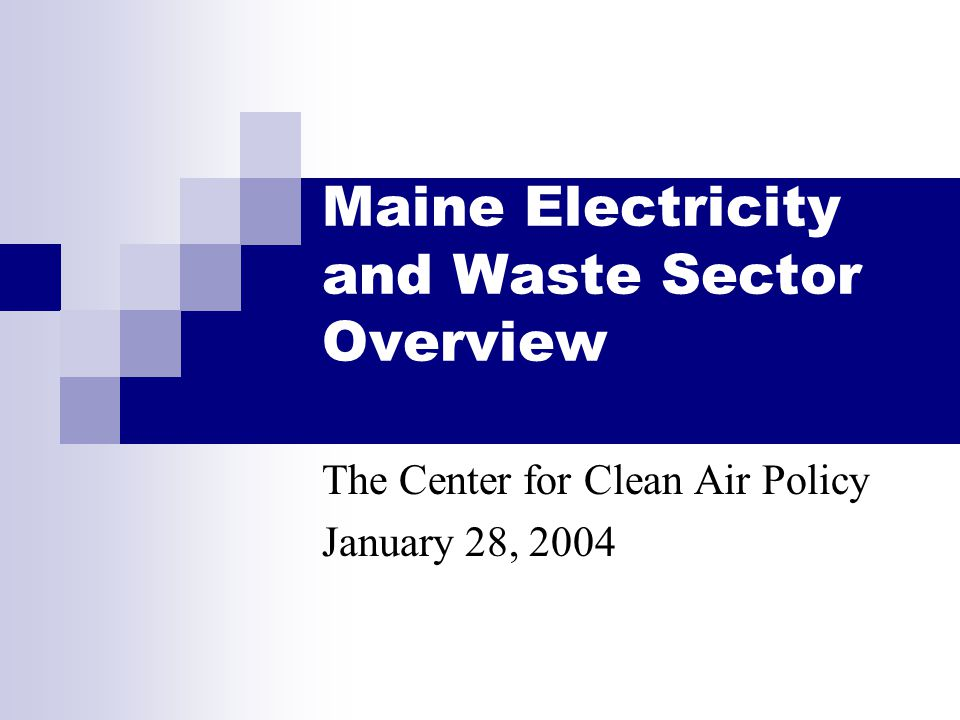 CCAP12 1/27/04 Waste Inventory 1990-2000 28% 45% Note: Target level is for illustrative purposes only, and does not represent a mandated target.