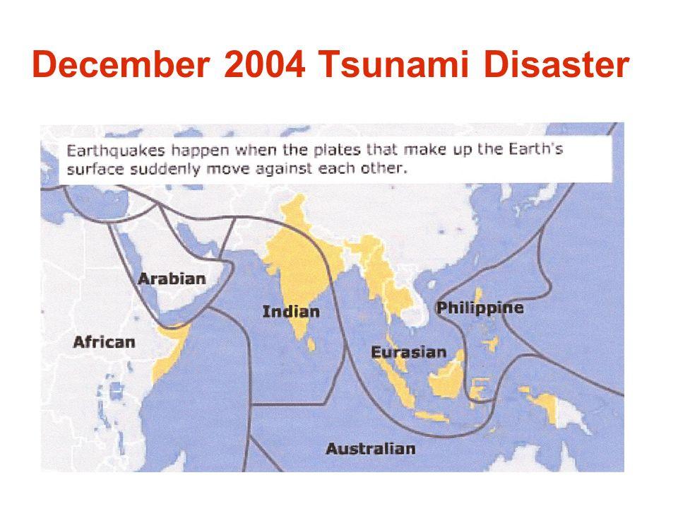 December 2004 Tsunami Disaster