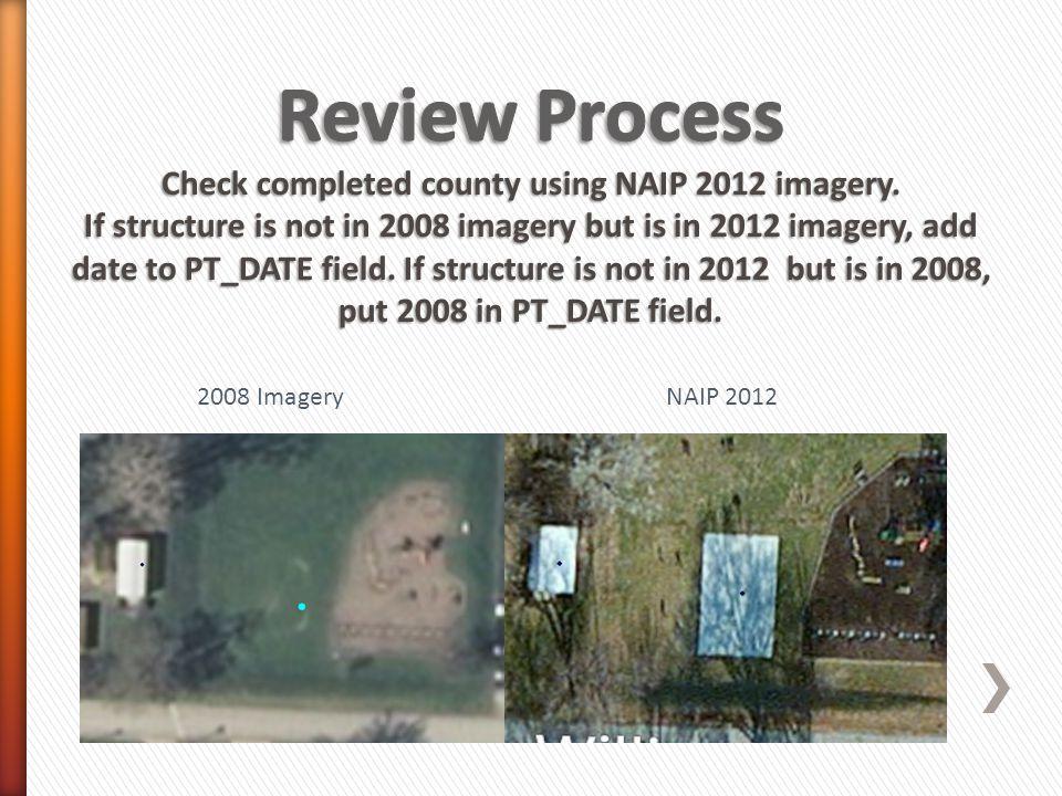 2008 ImageryNAIP 2012