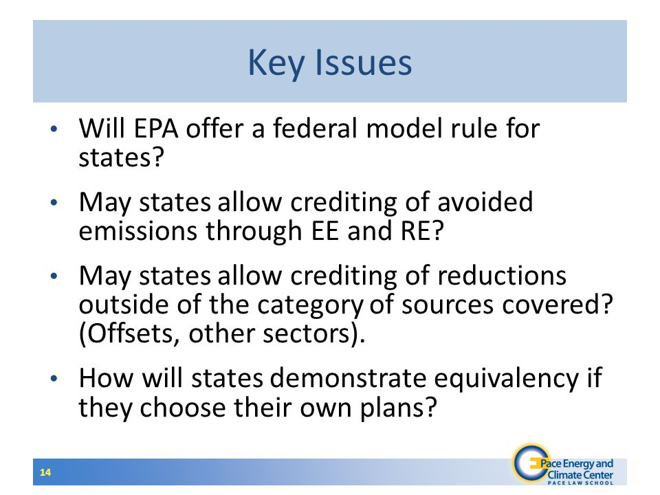 Will EPA offer a federal model rule for states.