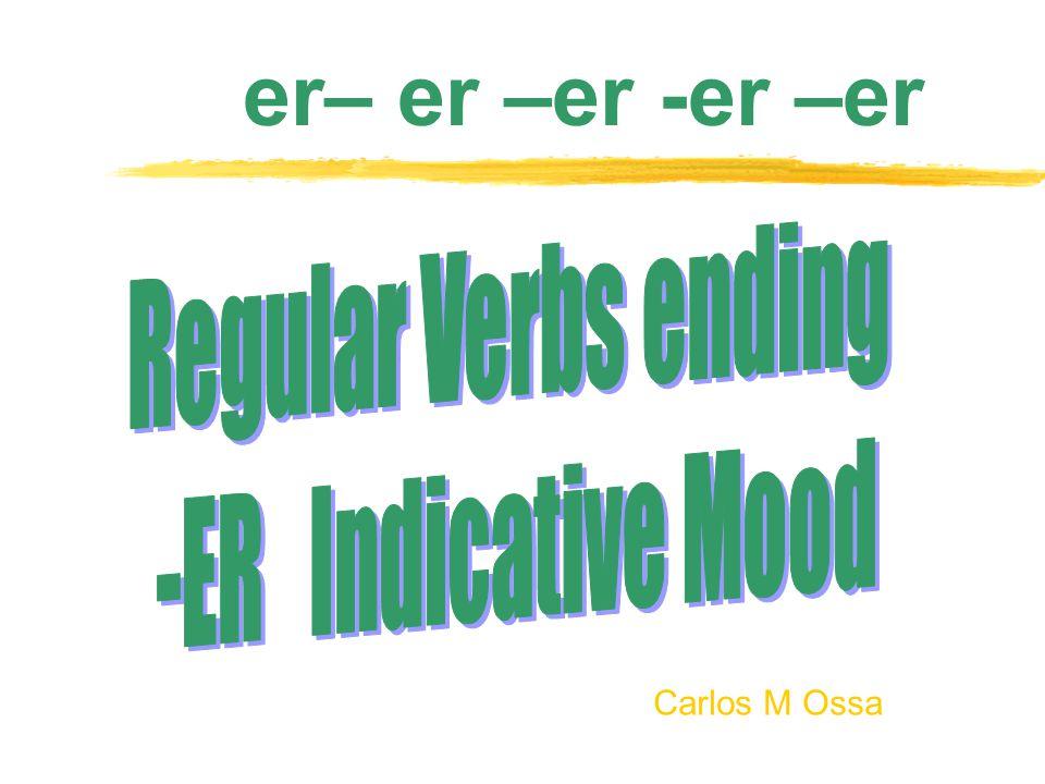 Carlos M Ossa er– er –er -er –er