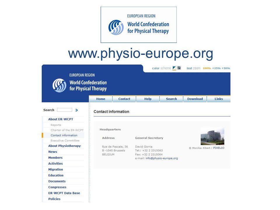 www.physio-europe.org