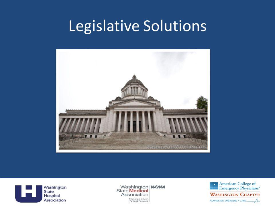 13 Legislative Solutions