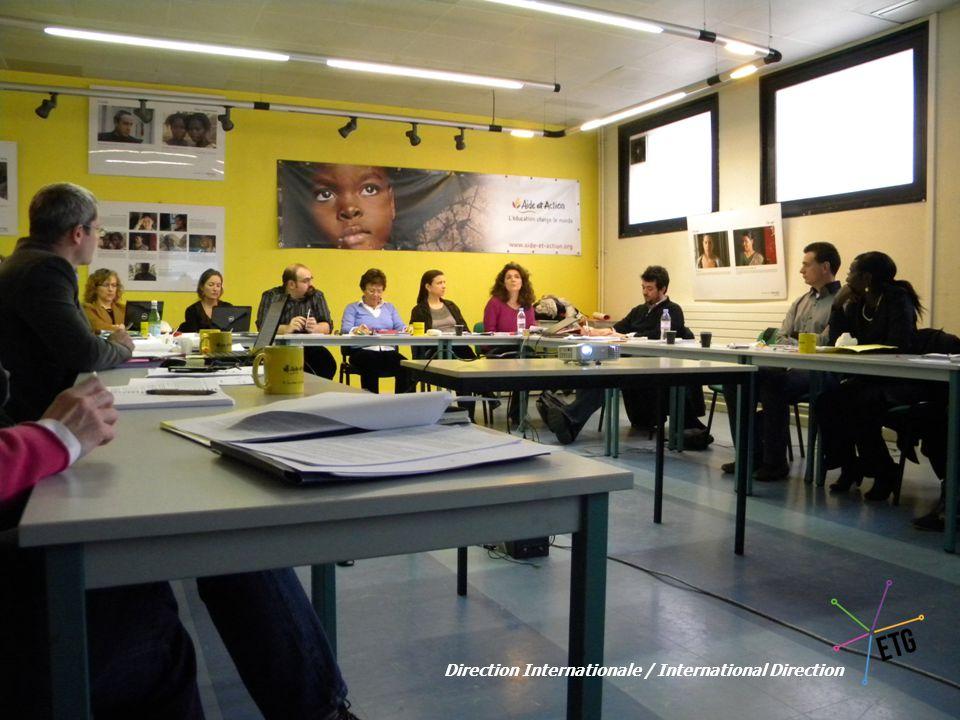 « Février 2011 » Fin prêts pour 5 mois d'intenses débats… Ready for 5 months of intense discussions…