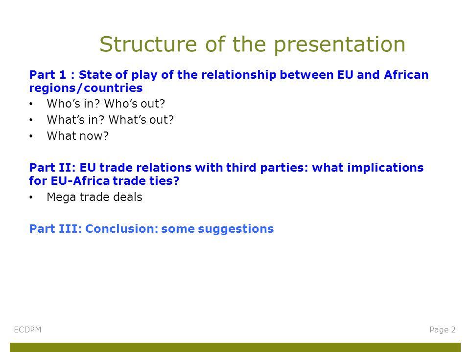 Who are EU's main trading partners.