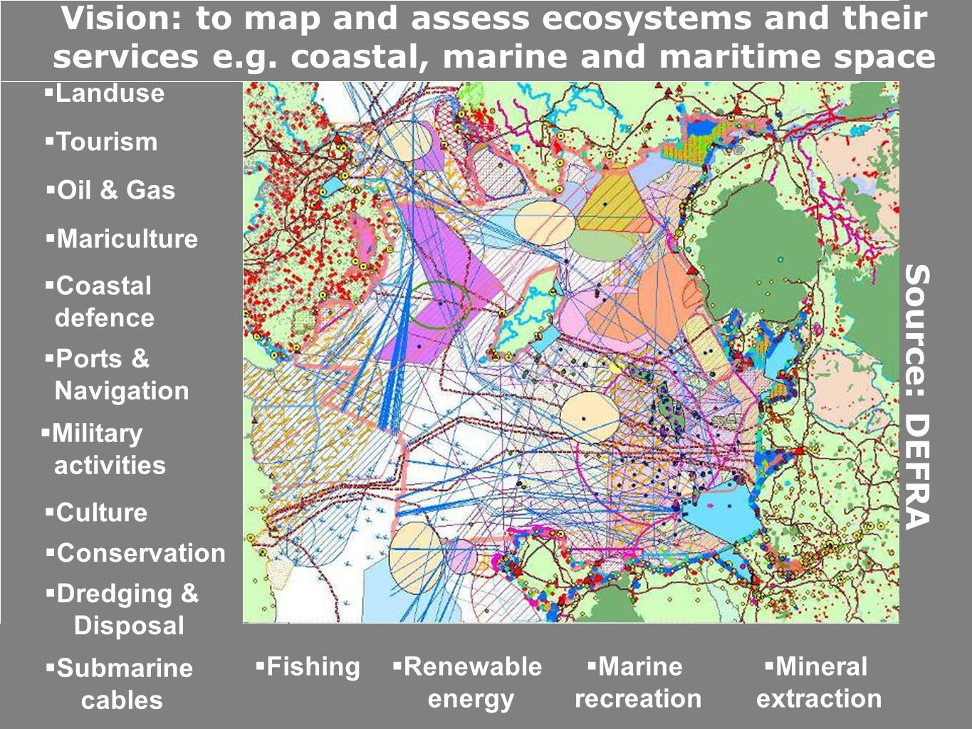 MAES Analytical Framework http://ec.europa.eu/environment/nature/knowledge/ecosystem_assessment/pdf/MAESWorkingPaper2013.pdf