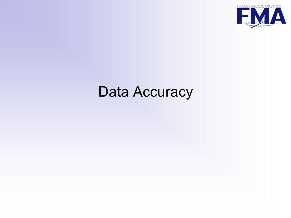 Data Accuracy