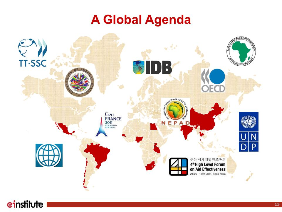 13 A Global Agenda