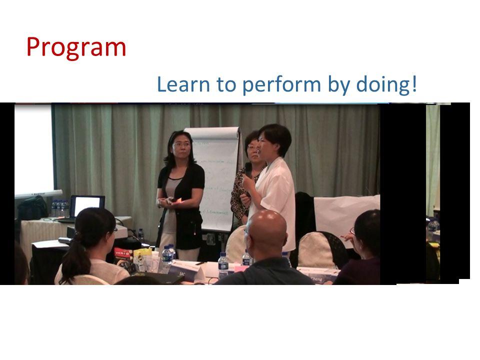 Program Prepare by doing