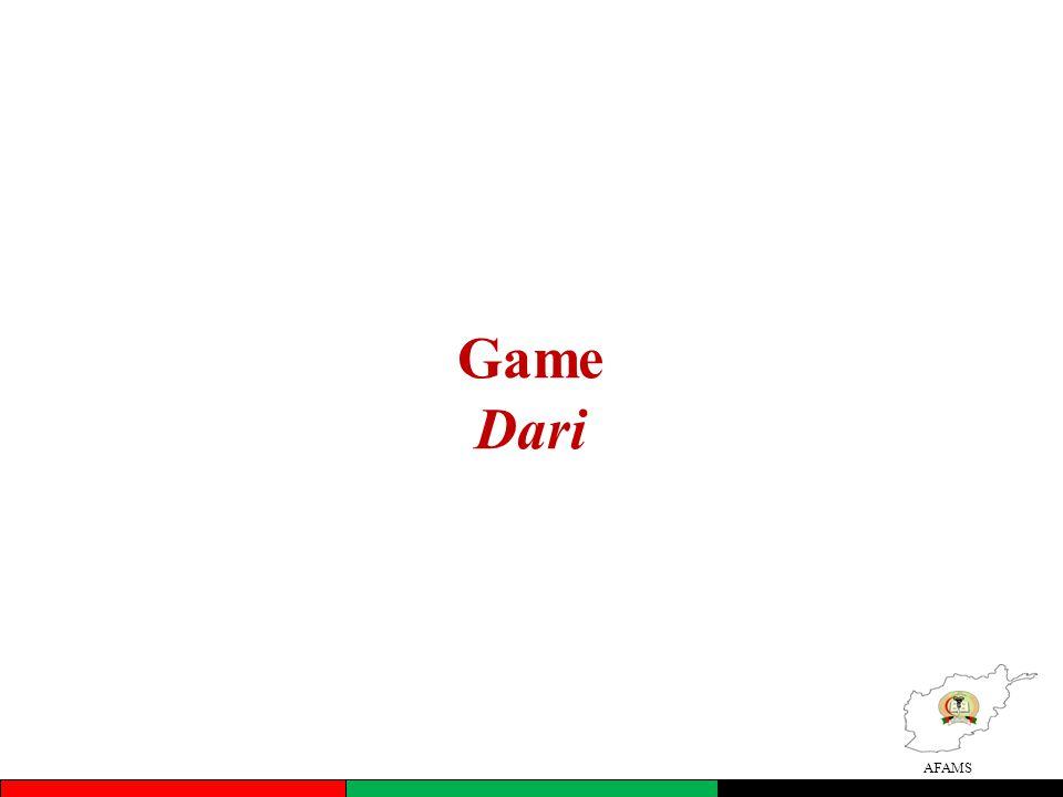 AFAMS Game Dari
