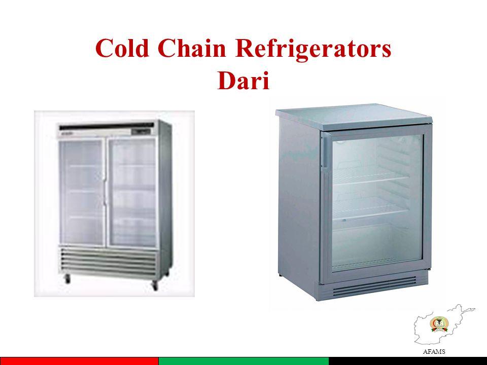 AFAMS Cold Chain Refrigerators Dari