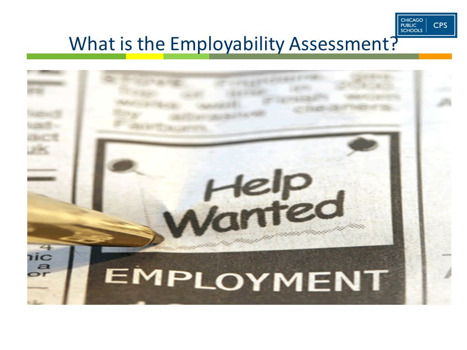 What is the Employability Assessment