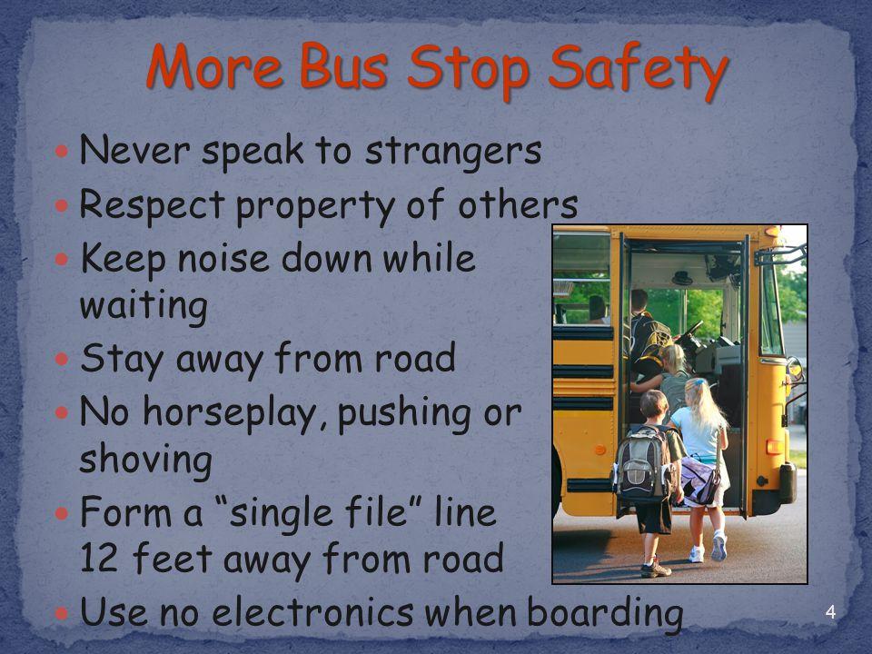 5 -12 Feet- Most Dangerous Danger Zone -12 Feet- School Bus Danger Zone Most Dangerous Danger from Passing Cars RearFront