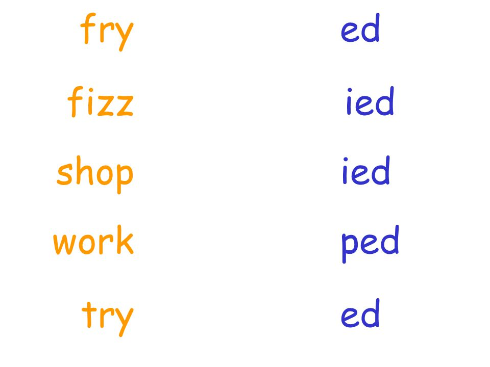 shop ed ied ped fizz fry work edtry