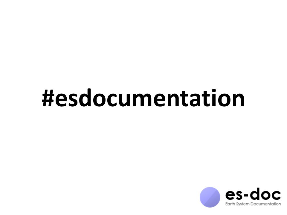 #esdocumentation