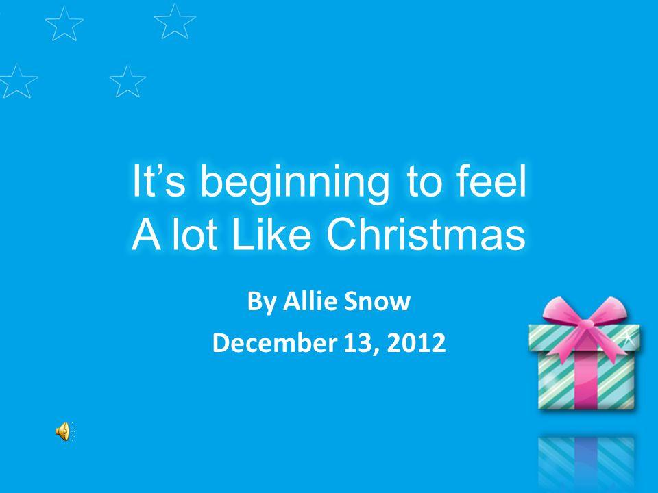By Allie Snow December 13, 2012