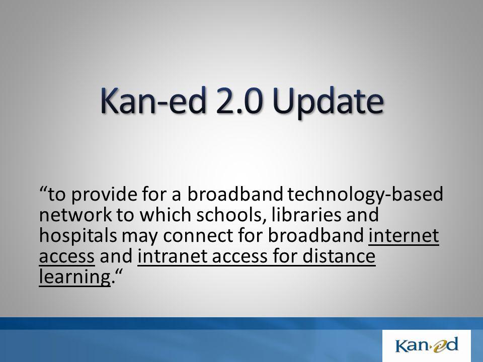 Kan-ed 2.0 went online January 1, 2009.
