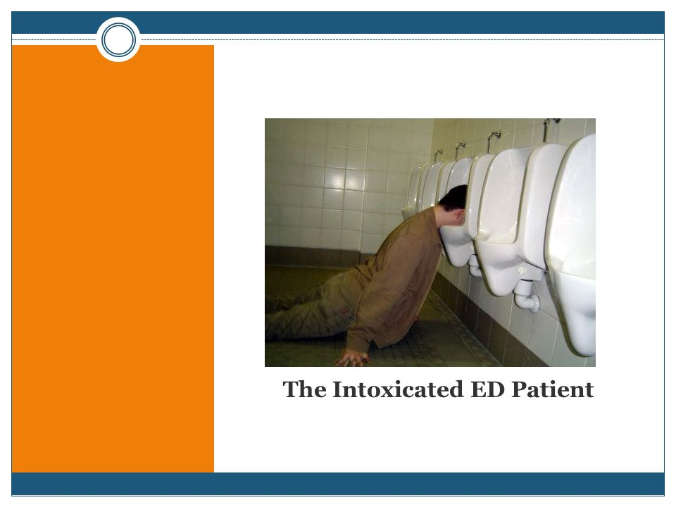 The Intoxicated ED Patient