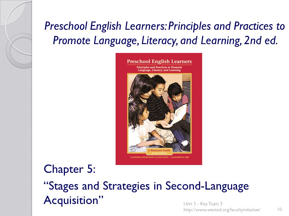 Preschool English Learners: Principles and Practices to Promote Language, Literacy, and Learning, 2nd ed.