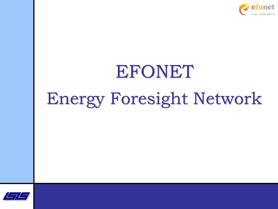 EFONET Energy Foresight Network