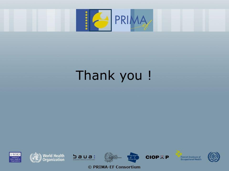 Thank you ! © PRIMA-EF Consortium