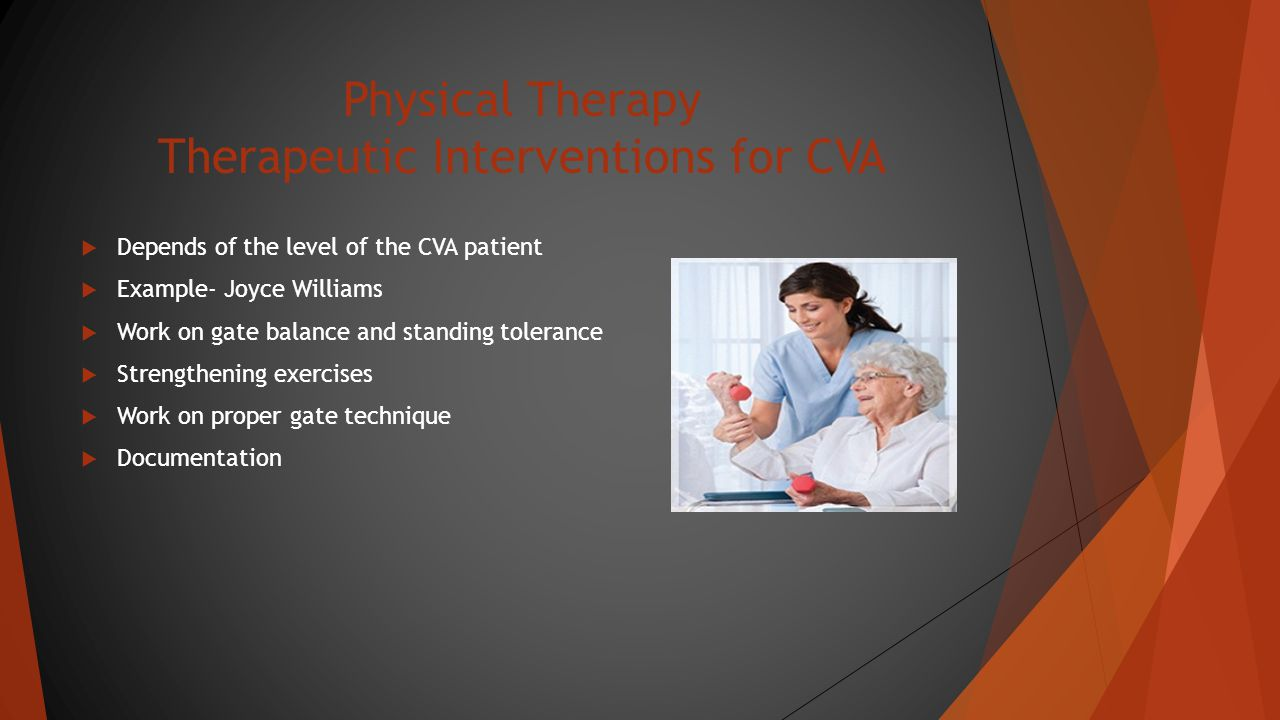 Physical Therapy Risk Factors for CVA  What puts patient at risk for CVA .