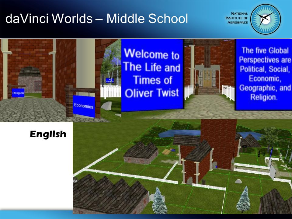 daVinci Worlds – Middle School English