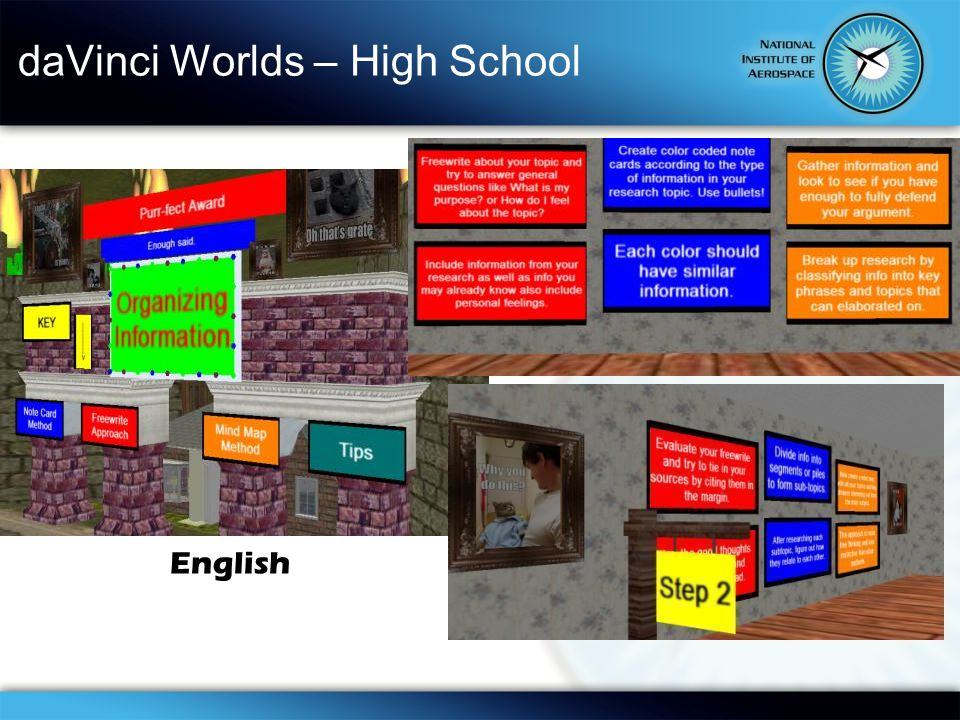 daVinci Worlds – High School English