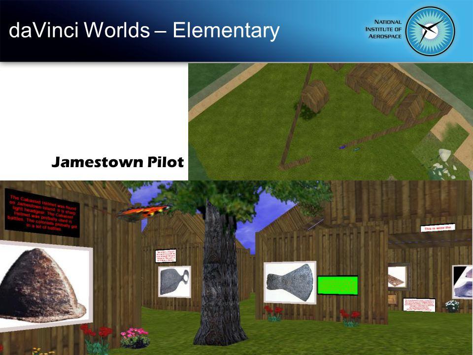 daVinci Worlds – Elementary Jamestown Pilot
