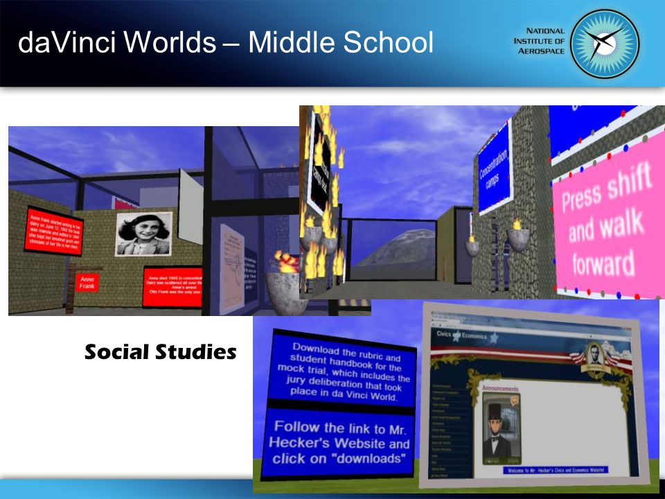 daVinci Worlds – Middle School Social Studies