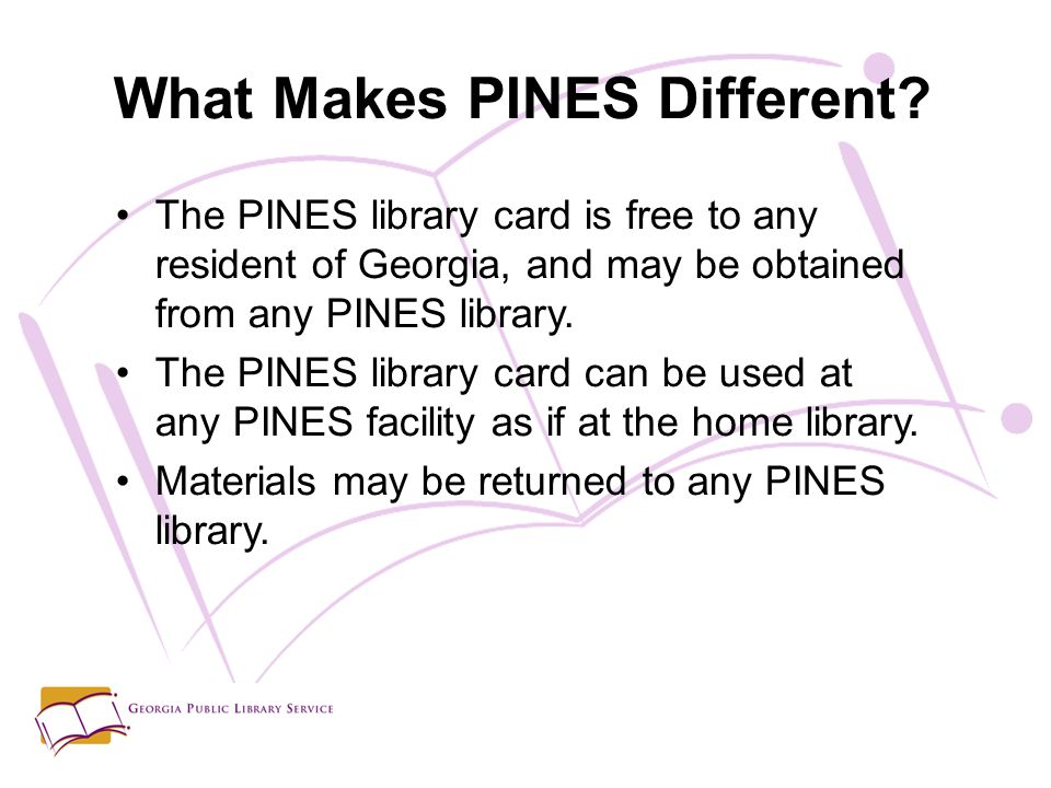 What Makes PINES Different.