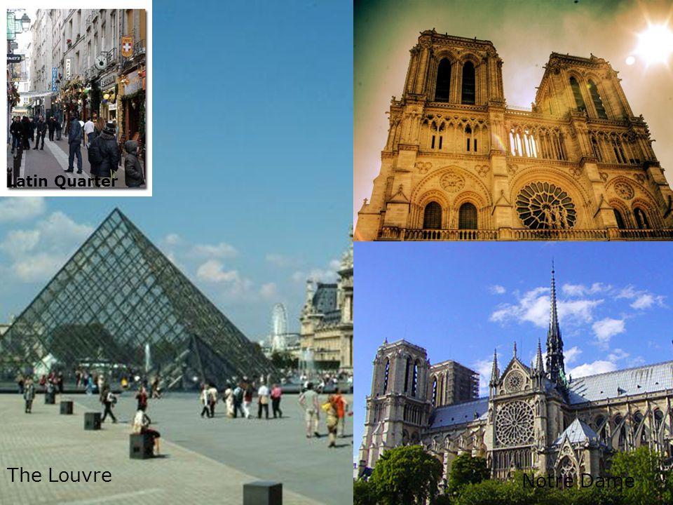Day 6 – Walking tour of Paris Night Train David Ponte Vecchio Notre Dame The Louvre Latin Quarter