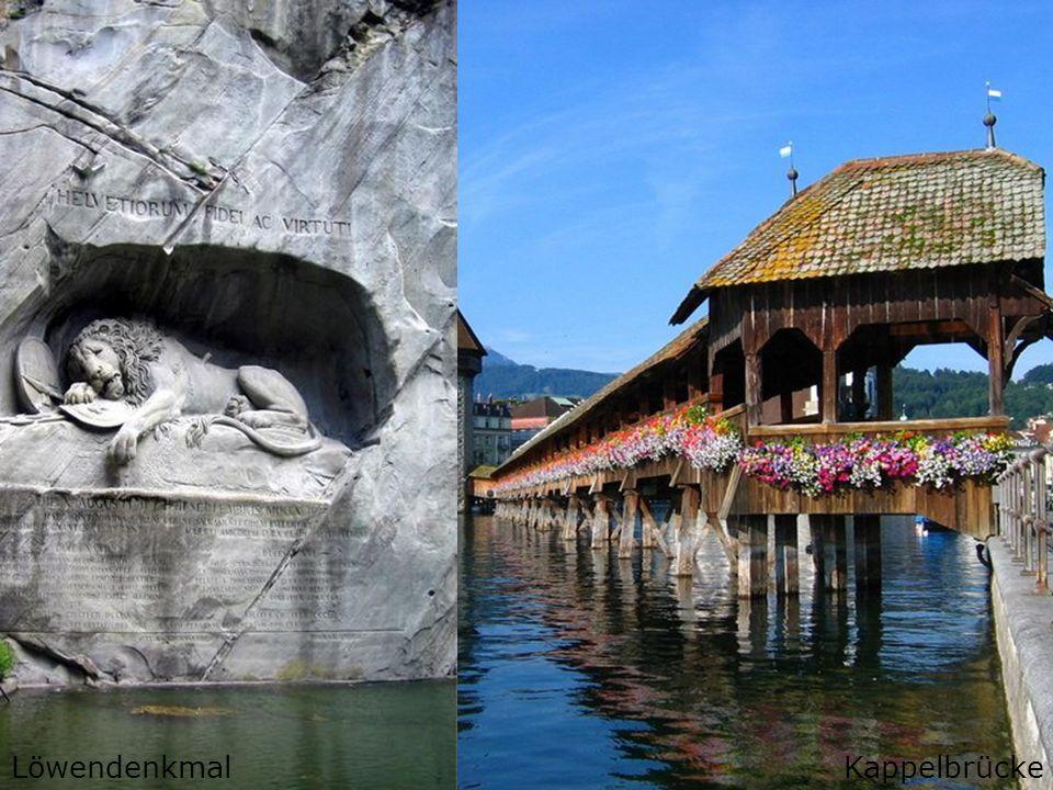 Lucerne Sistine ChapelKappelbrückeLöwendenkmal