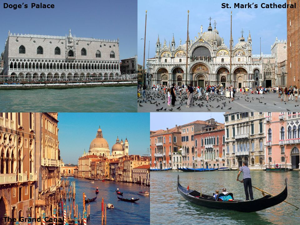 Day 3 – Guided Tour of Venice Doge's PalaceSt. Mark's Cathedral The Grand Canal