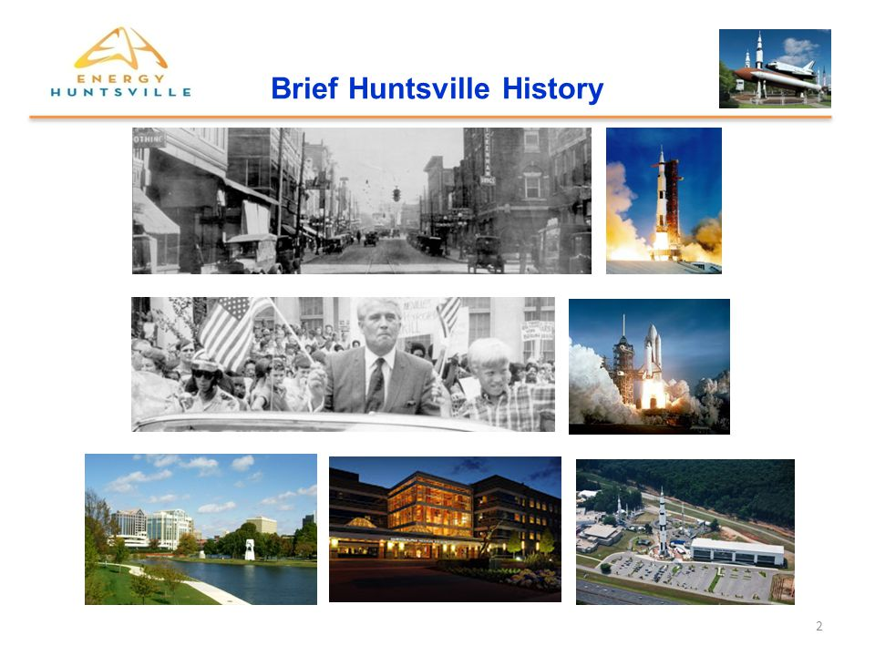 3 Content Integrated Non-Profit Collaborative The Energy Technology Opportunity Energy Huntsville Initiative Vision and Mission Energy Huntsville 2014 Activity Organizational Structure Opportunities Programs and Education Special Projects